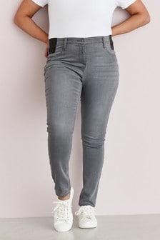 Очень мягкие джинсы облегающего кроя для беременных