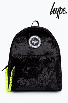 Hype. Velour Backpack