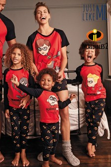 Czerwona piżama Matching Family Incredibles™ Jack-Jack (0m-cy-5lata)
