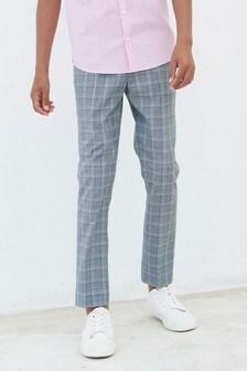 Pantalons de costume à carreaux (12 mois - 16 ans)