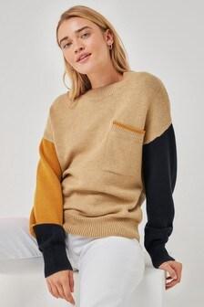 סוודר עם כיסים