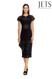 Jets Black Intrigue Dress