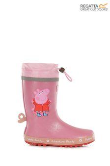 Regatta - Peppa Pig™-regenlaarzen in roze
