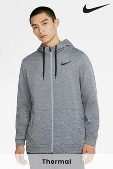 Termo mikina Nike Therma na zips s kapucňou