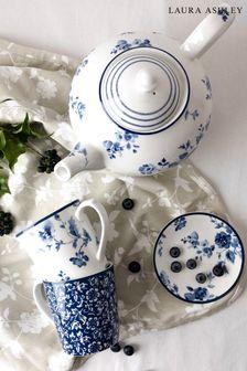 Laura Ashley Blue Blueprint Collectables Teapot