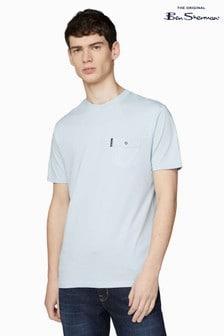 Ben Sherman® Blue Signature Pocket T-Shirt