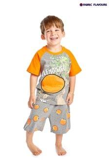 Fabric Flavours James und der Riesenpfirsich Pyjama, Grau