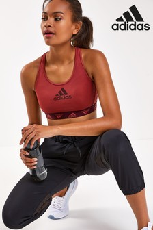 adidas Don't Rest Badge Of Sport Padded Sports Bra