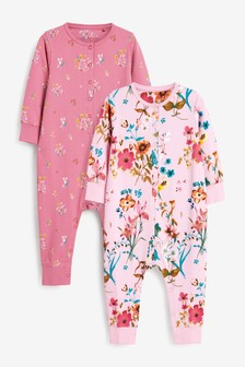 2 Pack Jersey All-In-Ones (9mths-8yrs)
