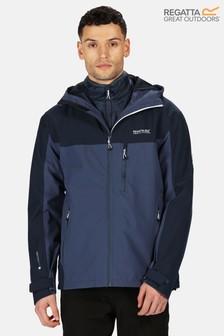 Regatta Blue Wentwood V 3-In-1 Waterproof Jacket