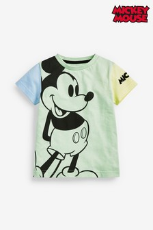 Colourblock Mickey Mouse™ T-Shirt (3mths-8yrs)