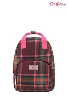 Бордовый детский рюкзак среднего размера в клетку Cath Kidston® Clarendon