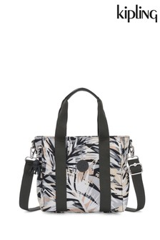 Kipling Palm Print Mini Tote Bag