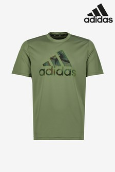 adidas Green Camo Fill T-Shirt