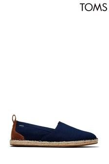 Темно-синие эспадрильи с текстильным верхом TOMS Arta