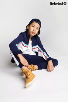Timberland® Navy Zip Sweatshirt
