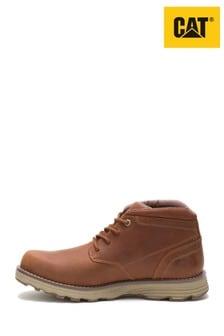 CAT® Brown Elude Waterproof Chukka Boots