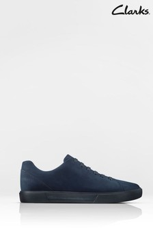 Clarks Navy Leather Un Costa Lace Shoes