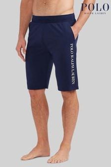 Polo Ralph Lauren Grey Side Logo Jersey Lounge Shorts