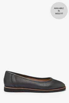 EVA Leather Ballerinas