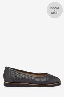 נעלי בלרינה מעור של EVA