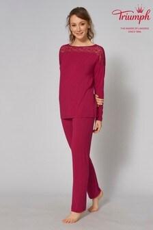 Triumph® Red Amourette Pyjama Set