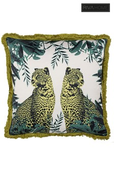 Riva Home Twin Leopard Cushion