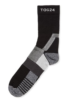 Tog 24 Grey Trek Merino Trek Socks