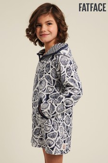 FatFace Shell Print Beach Buddy Towelling Robe