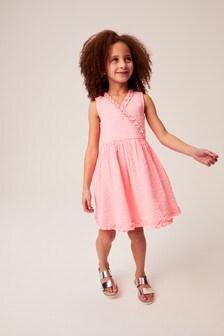 Платье с запахом (3-16 лет)