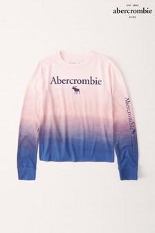 Abercrombie & Fitch Dip Dye Long Sleeve T-Shirt