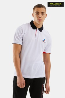 Nautica Competition White Coble Poloshirt