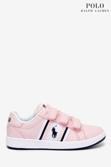Polo Ralph Lauren Pink Oaklynn Toddler Trainers