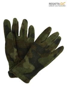 Regatta Green Fallon Printed Gloves