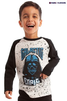 تي شيرت كم طويل Star Wars™ Galactic Empire أبيض من Fabric Flavours