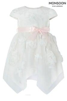 Monsoon Baby Leilani Ivory Dress