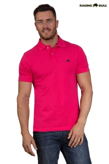 Raging Bull Pink Signature Polo