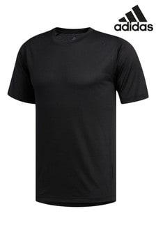 Черная практичная футболка adidas