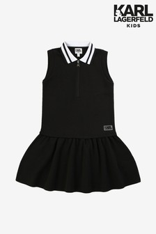 Karl Lagerfeld Kids Black Tennis Dress