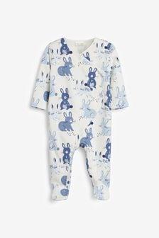 Fleece Lined Sleepsuit (0mths-3yrs) (747727) | $15 - $16