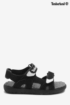 Sandalias negras con 2 tiras Perkins Row de Timberland®