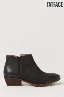 FatFace Black Lytham Ankle Boots