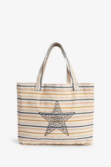 Multicolour Star Beach Bag