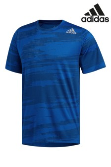 Синяя футболка adidas Winter