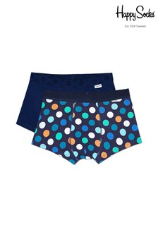 Happy Socks Navy/Multi Trunks Two Pack