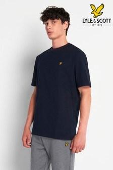 Lyle & Scott Ringer-T-Shirt mit Markenlogo