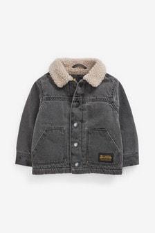 羔羊毛領外套 (3個月至7歲)