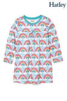 Hatley Blue Magical Rainbows Long Sleeve Nightdress