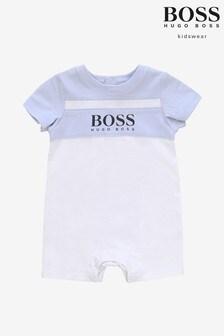 BOSS Blue Logo Romper