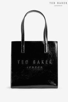 Ted Baker Alicon Crinkle Patent Embossed Small Icon Bag